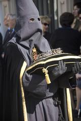 Nazareno portando corona de espinas