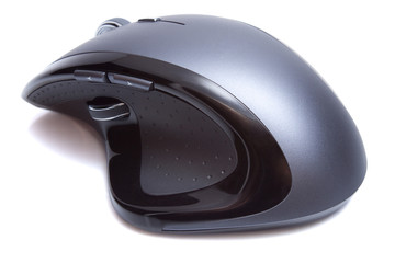 Modern Ergonomic Mouse isolated
