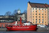 Helsinki embankment poster