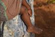 bambino africano