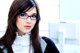Fototapety business lady
