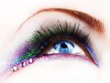 Beautiful fashion eye makeup