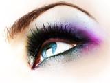 Eye Makeup isolated on white