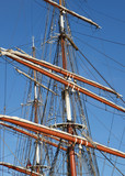Tall Ship Masts and Rigging