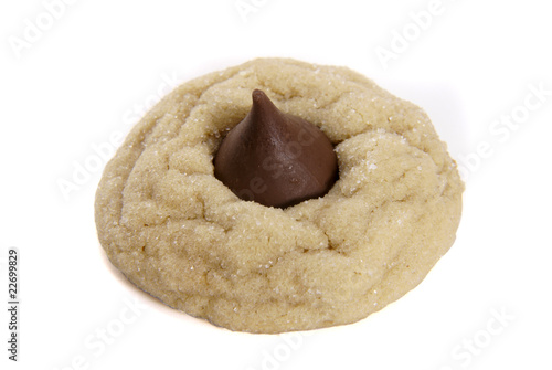 Single Peanut Butter Blossom Cookie