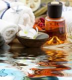 Fototapeta aromaterapia - żwirkowa - Higiena