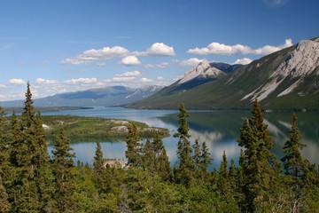 Mountain Lake on South Klodike Highway