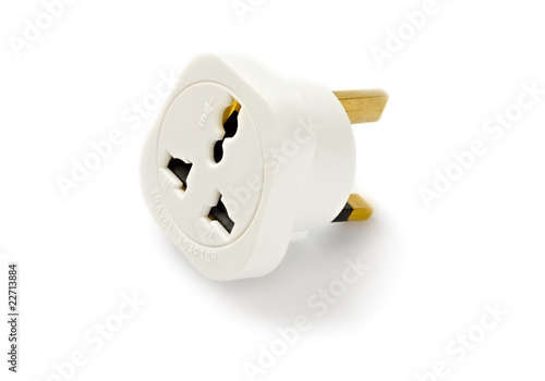 Adapter isilated on the white background - 22713884