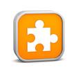 Orange puzzle Sign