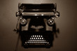 Antique typewriter.