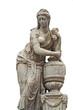 antique statue, isolated