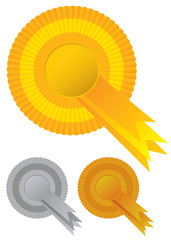 Collection rosette awards