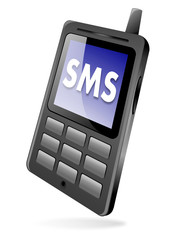 SMS mobile phone icon