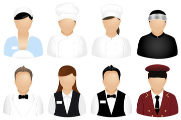 Restaurant People Icons