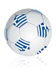 Greece soccer ball