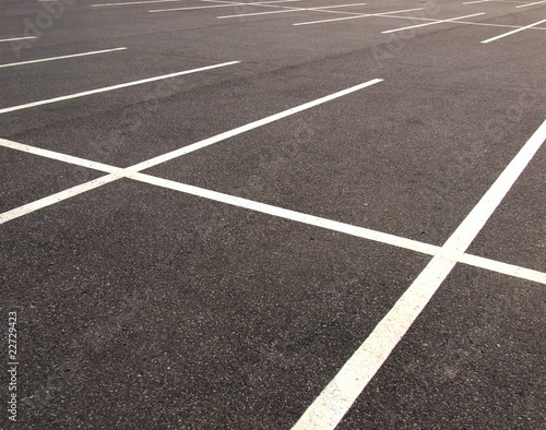 Empty parking lots - 22729423
