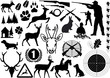 jagd symbole - 22733688
