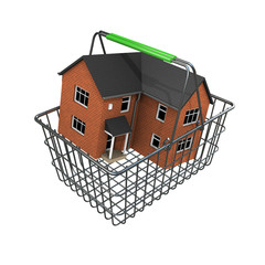3d House buyers basket