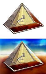 ピラミッド内部図