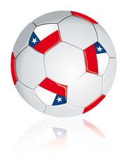Chile soccer ball.
