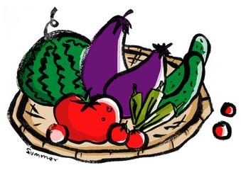 日本の新鮮夏野菜