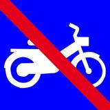 Circulation Interdite aux engins motorisés poster