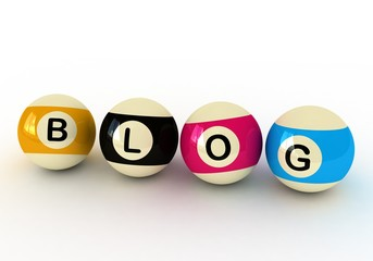 Blog and Billiard Balls