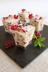 Verrines de Tiramisu au fruits rouge FB