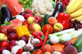Fresh Vegetables, Fruits and other foodstuffs poster