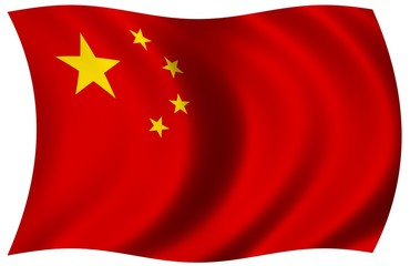 Nationalfahne von China