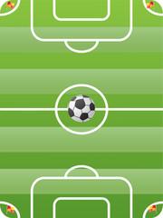 vector of soccer field