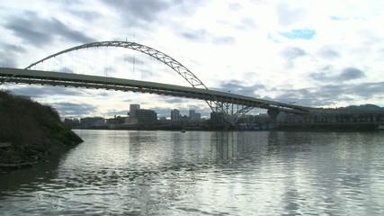 Downtown Portland and Bridge