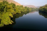 Fototapeta niebieski - jasny - Rzeka