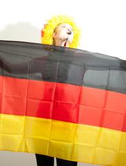 Fußballfan Deutschland