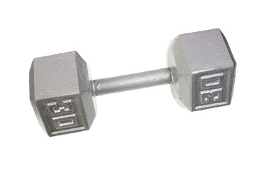 metal dumbbell for weight lifting