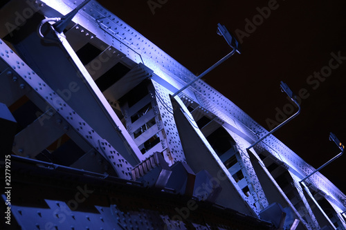 Bridge in night.