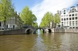 The city Amsterdam in the Netherlands