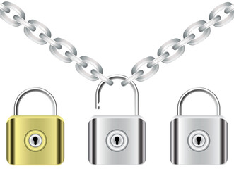 vector chain and locks