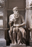 Moses by Michelangelo poster