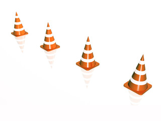 Precautionary cones