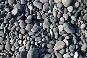 Steine am Strand von Kreta