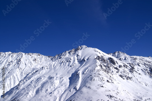 Panoramic view. Elbrus Region.