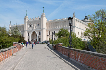 Royal castle and Museum in the city of Lublin. Poland.