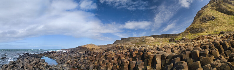 Picture of Giant's Causeway in Northern Ireland.