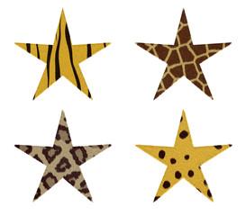 animal fur on stars