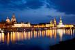 Nachtpanorama Dresden