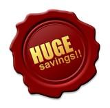 Veľké úspory tesnenie