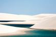 Leinwandbild Motiv Lencois Maranheses national park