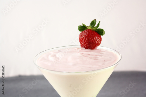 Yogurt alla Fragola