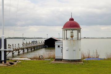 Little lighthouse in the Netherlands